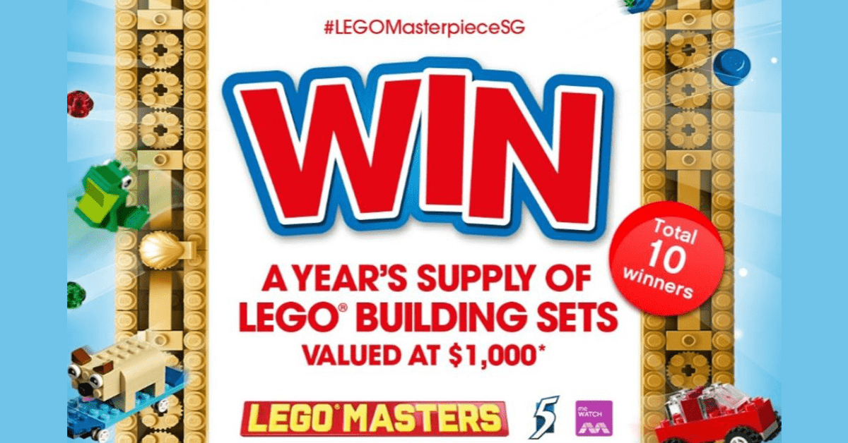 #LEGOMasterpieceSG Giveaway | Win a year's supply of LEGO building sets!