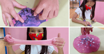 REVIEW: Jolly Confetti's Princess Slime and Clay Art Workshop