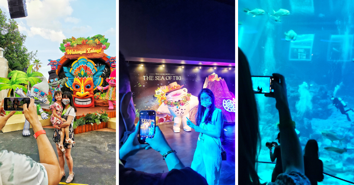 Tropical Celebrations at Universal Studios Singapore and S.E.A Aquarium, Resorts World Sentosa!