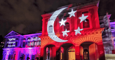 Heritage and Culture Light Up the City for Singapore's 55th Birthday