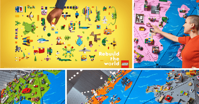 LEGO Singapore Launches New Global Brand Campaign 'Rebuild The World'