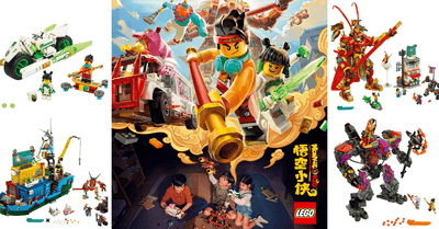LEGO introduces latest Monkie Kid theme with all-new animated series and play sets