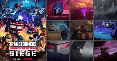 Netflix Releases Transformers: War For Cybertron Animated Series this July!