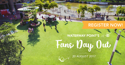 Things to do this Weekend: Waterway Point's Fans Day Out