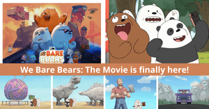 Cartoon Network Premieres First-Ever We Bare Bears Movie!