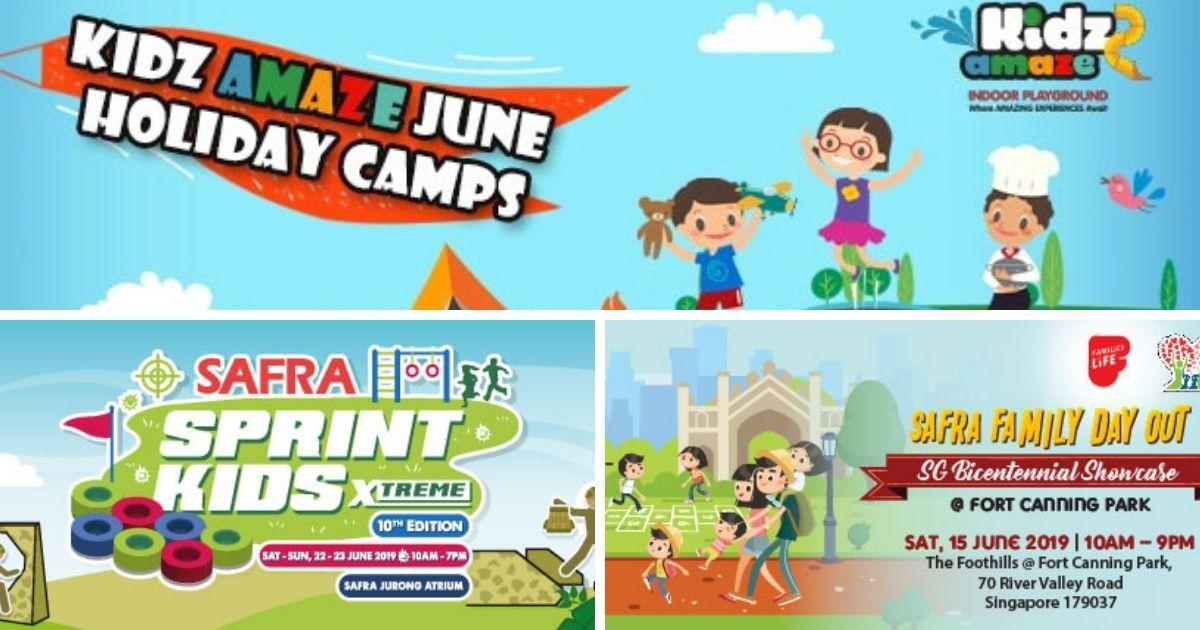 What's Happening at SAFRA – Craft Activities, Creative Workshops, Sports Camps, & Much More!