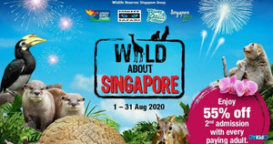 Wild About Singapore: National Day Festivities at Wildlife Parks