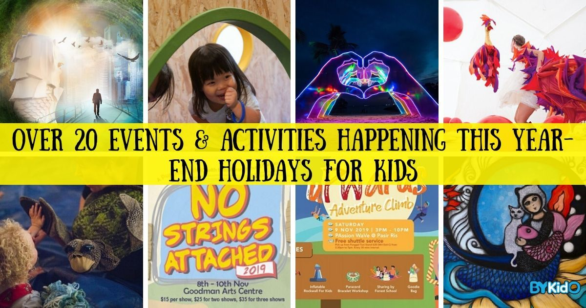 Year-end Holidays 2019: A Mammoth List of Kids-Friendly Things to Do with Your Family in Singapore