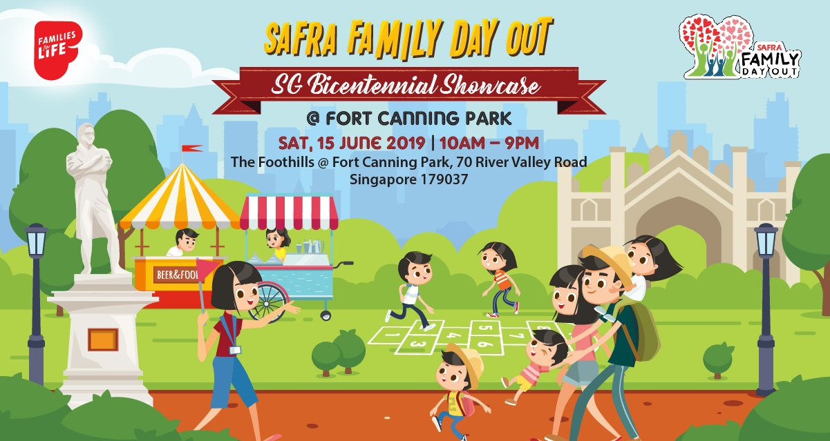Learn More About Singapore as a Family @ SAFRA Family Day Out | SG Bicentennial Showcase