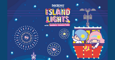 Sentosa Island Light Returns with Hello Kitty, My Melody and other Sanrio Characters This December!