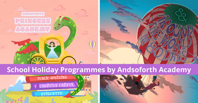 Andsoforth Academy launches All-New Kids Holiday Programmes this November!