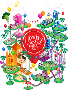 Places to go this weekend - Healthy Lifestyle Festival