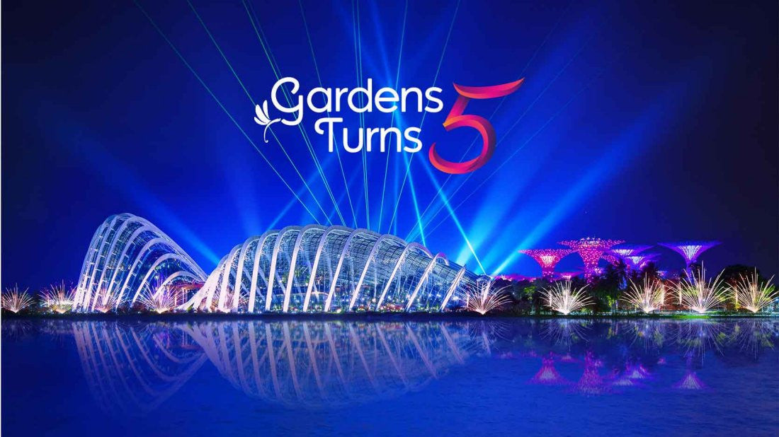 Things to do this Weekend: Activities @ Gardens turns 5!
