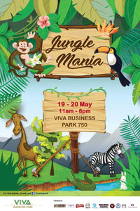 Things to do this Weekend: Join in the Fun @ Jungle Mania at VBP with Your Little Ones!