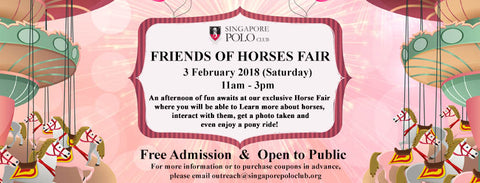 Things to do this Weekend: Get Friendly with the Horses @ The Singapore Polo Club with Your LOs!