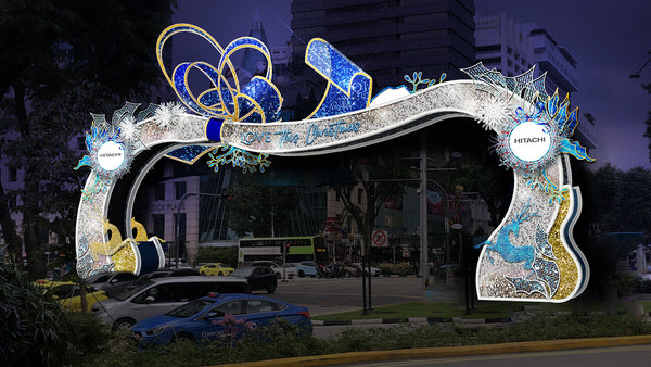 Orchard Road Light-up 2020