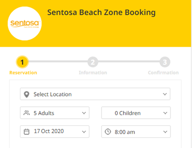 Step-by-Step Guide To Reserving Entry to Sentosa Beaches
