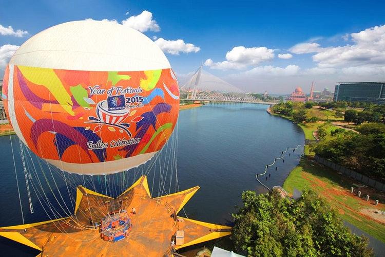 Skyrides Festivals Park – Catch a Panoramic View of Putrajaya
