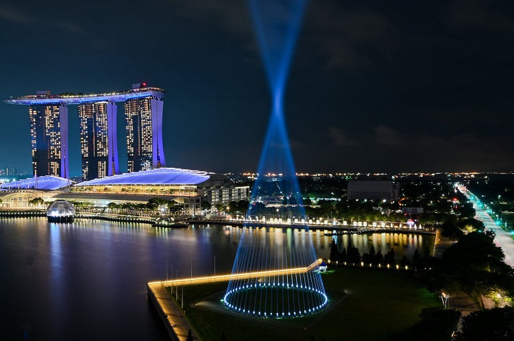 Shine a Light at The Promontory, Marina Bay