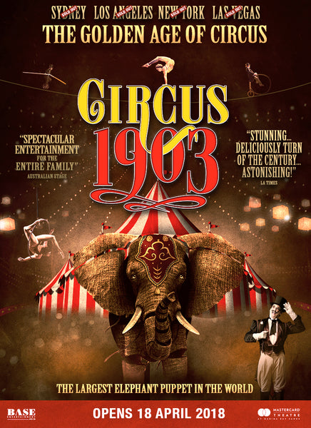 Things to do this Weekend: Watch Circus 1903: The Golden Age of Circus with Your Little Ones!