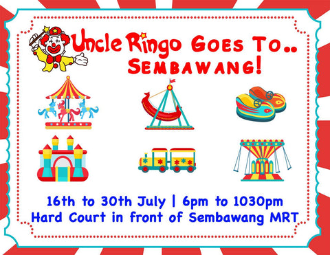 Uncle Ringo goes to Sembawang