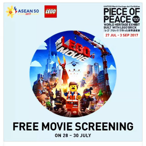 LEGO ® Evening Movie Screening at Fort Canning Green