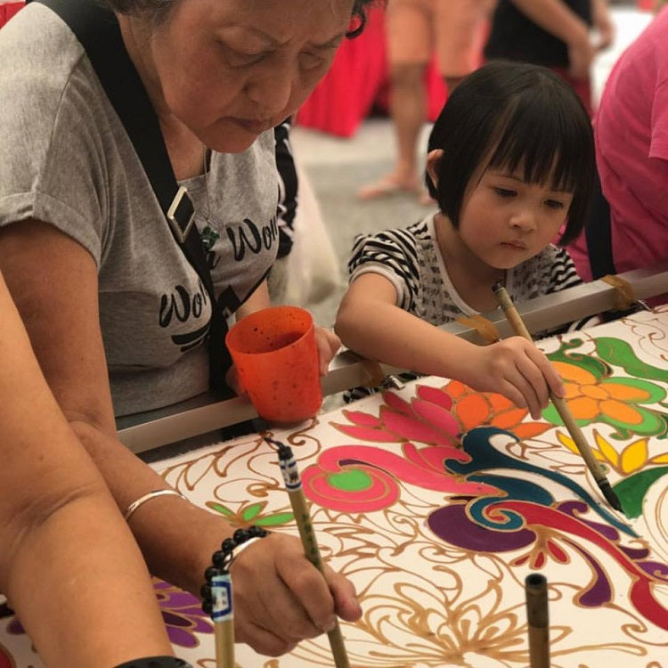 Goodman Open House 2019 - Batik Painting