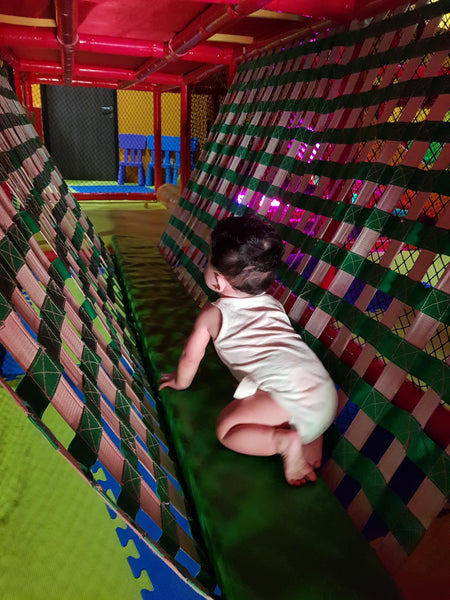 There were loads of play and physical activity (with all the crawling and climbing) for the day, which were great for an active baby like Baby L.