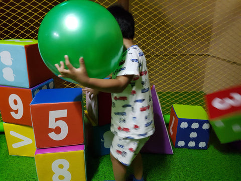 BYKidO MOMENTS: It's Playtime @ Play Lah for Mummy Georgina and her LOs!