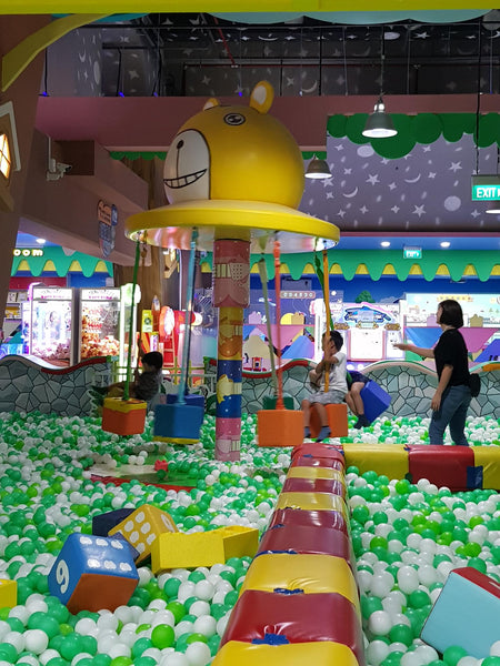 BYKidO Moments: It's Playtime at Kidzland for Mummy Leona & Her Little One!