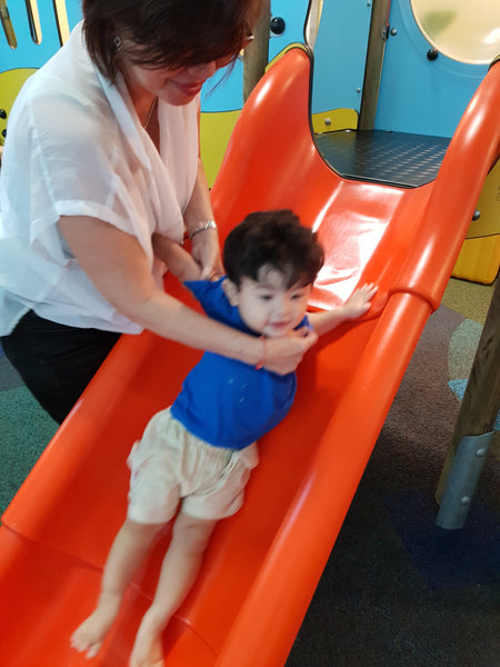 BYKidO Moments: Mummy L & Baby L Discover Hip Kids Club Playground!
