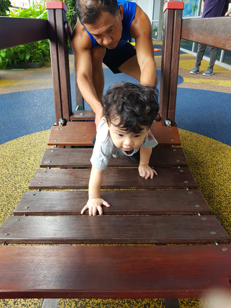 BYKidO Moments: Mummy Leona and Baby L Visit Playground at 313@Somerset!