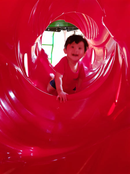 BYKidO Moments: Little Baby L's Playground Adventures at Paragon!
