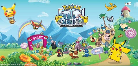 Things to do this Weekend: Join Pokémon Run Carnival 2018 with your LOs & Make Merry!