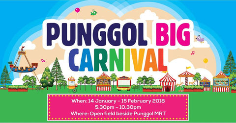 Things to do this Weekend: Go Big on Fun with Your LOs @ Punggol Big Carnival!