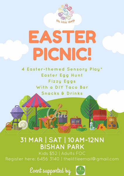 Things to do this Weekend: Go on an Easter Picnic with Your Little Ones @ Bishan Park!