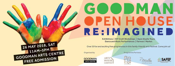 Things to do this Weekend: Explore Goodman Open House: Re: Imagined with Your Little Ones!