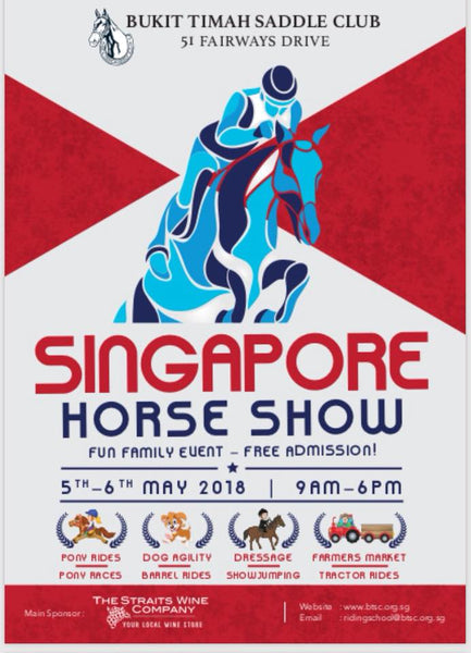 Things to do this Weekend: Make Merry with Your Little Ones at the Singapore Horse Show!