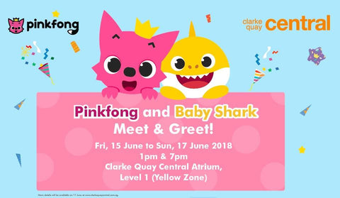 Pinkfong and Baby Shark @ Clarke Quay Central