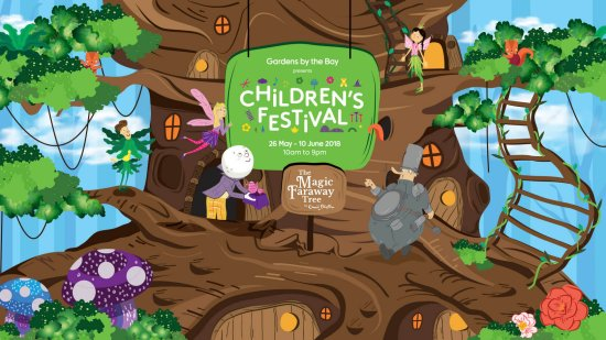 MUST GO: Children's Festival @ Gardens by the Bay!