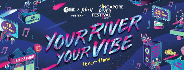 5 Things to do at Singapore River Festival 2018 with Your Little Ones!