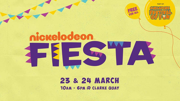 Singapore Festival of Fun - Nickelodeon Fiesta