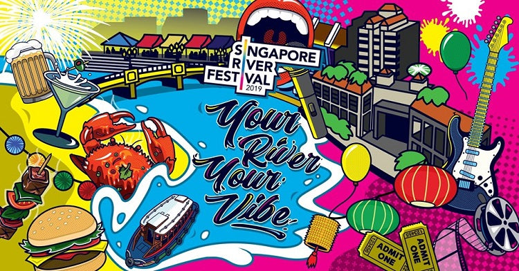 Revel in the Exuberant Festivities at the Singapore River Festival with Your Tots!