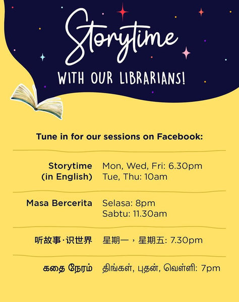 National Library Board of Singapore Live Storytelling Sessions