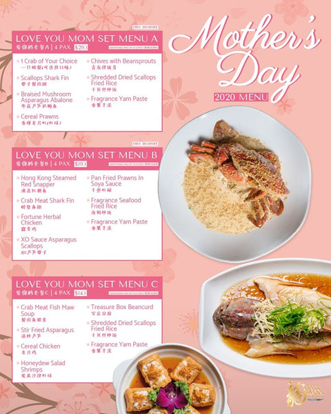 Uncle Leong's Signature - Mother's Day Menu