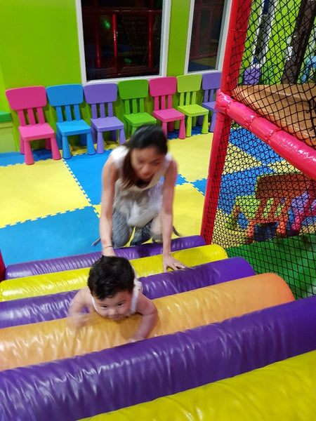 BYKidO Moments: Mummy L and Baby L Go Exploring at eXplorerkid @ AMK Hub!
