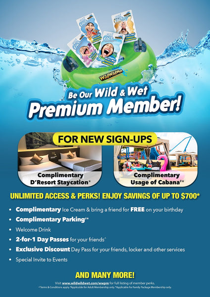 Wild Wild Wet - Wild and Wet Premium Membership