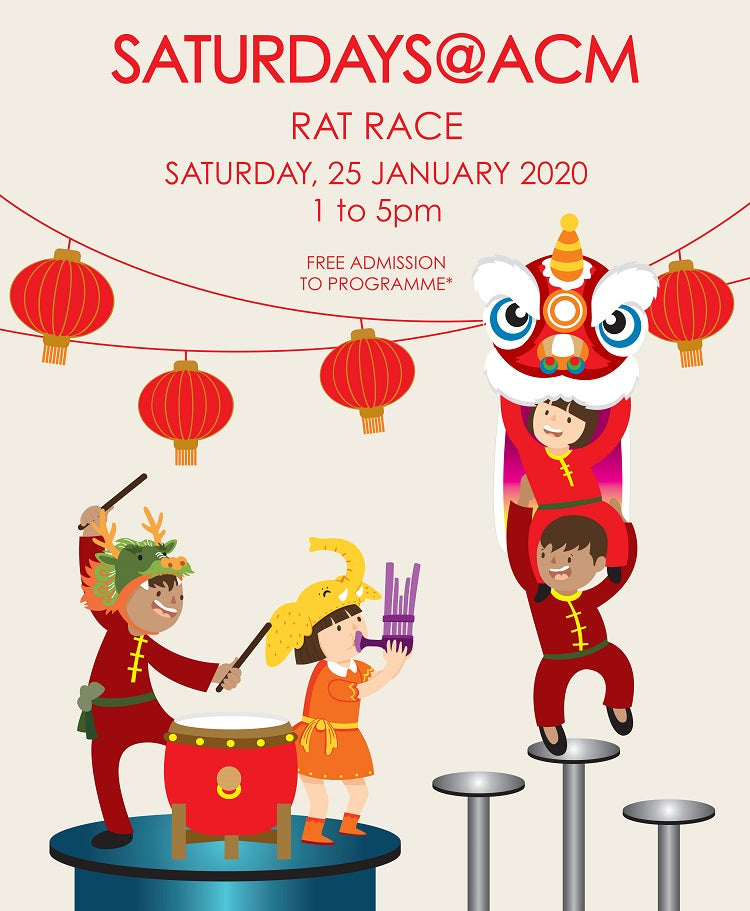 Chinese New Year Celebrations at Asian Civilisations Museum