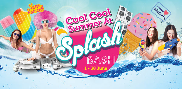 Get Refreshed with Your Tots at Adventure Cove's Cool Cool Summer at Splash Bash!