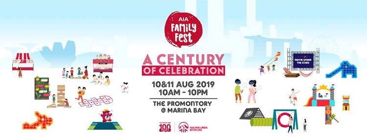 Have a Jolly Jamboree with Your Little Tots at the AIA Family Fest! [Registration Now for Your AIA Family Fest goodie bag]